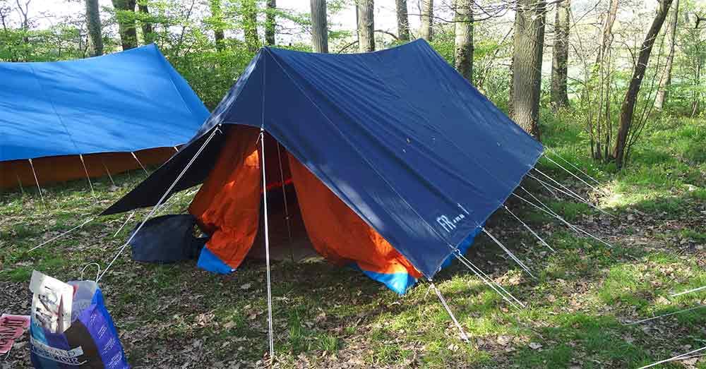 monter et entretenir sa tente de patrouille appareillage. Black Bedroom Furniture Sets. Home Design Ideas